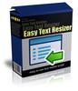 Thumbnail Easy Text Resizer (MRR)