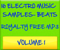 16 Electro MP3 Music Files Sample Beats