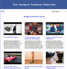 Thumbnail Build Designer Footwear Video Site (MRR)