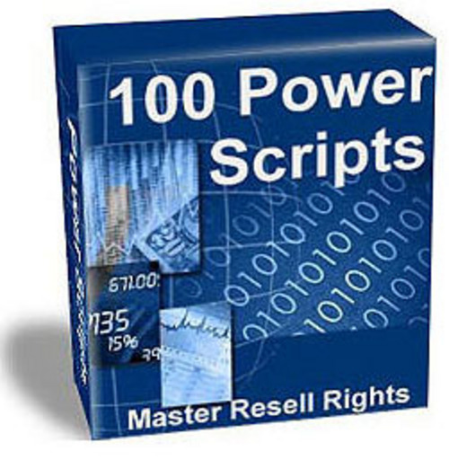 Product picture 114 Power Scripts (Mrr)