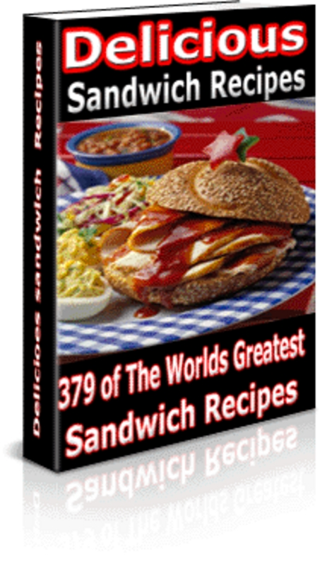 Product picture Easy Sandwich Recipes (Master Resale Rights)
