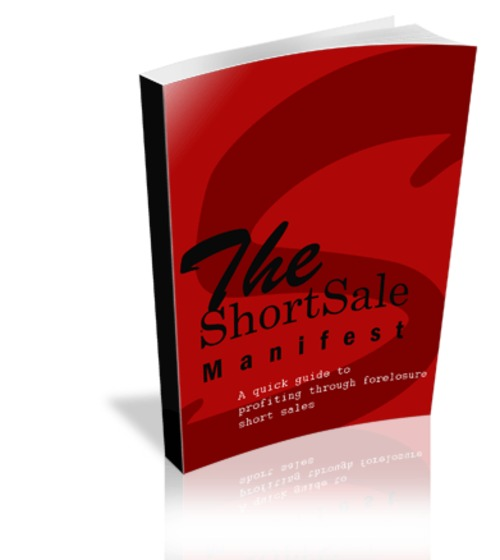 Product picture Short Sale Manifest