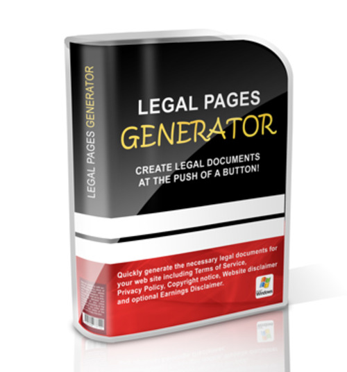 Product picture Legal Page Generator
