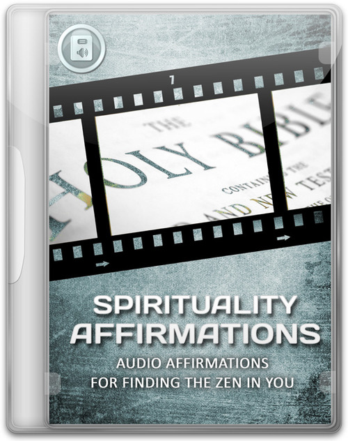 Product picture Spiritual Affirmations Audio