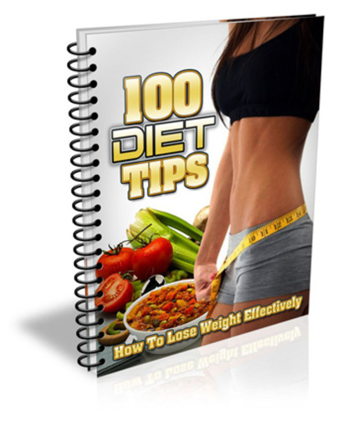 Product picture 100 Diet Tips (MRR)
