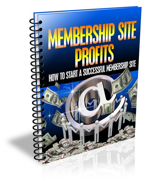 Product picture Membership Site Profits (MRR)