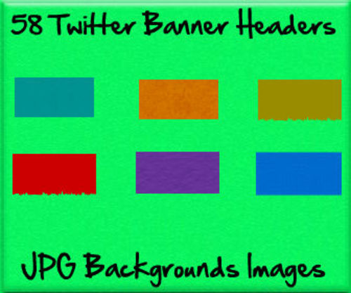 Product picture Twitter Background Headers