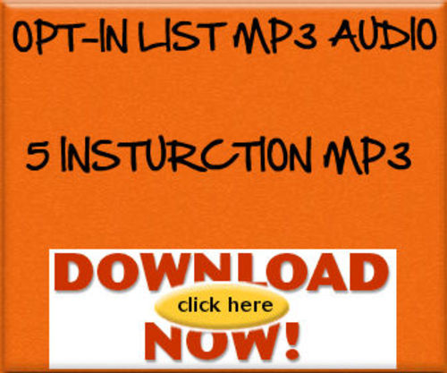 Product picture Opt-In MP3 Audio Insturction Guide