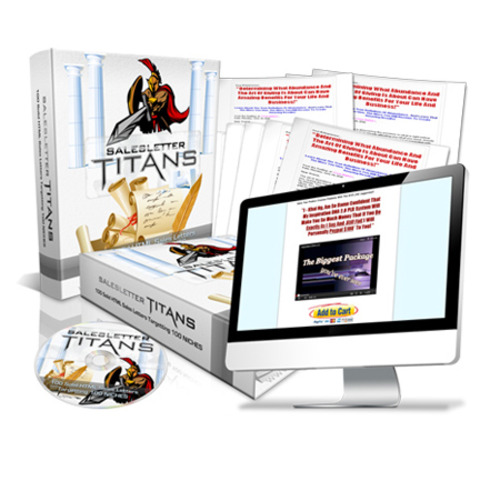 Product picture Sales Letter Titan Bundle