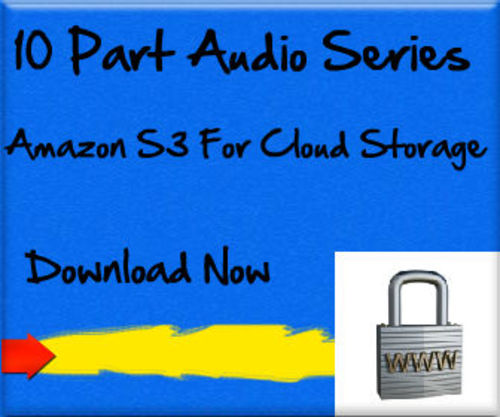 Product picture Amazon S3 Cloud Storage Tutorial