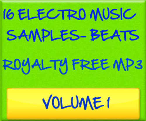 Product picture 16 Electro MP3 Music Files Sample Beats