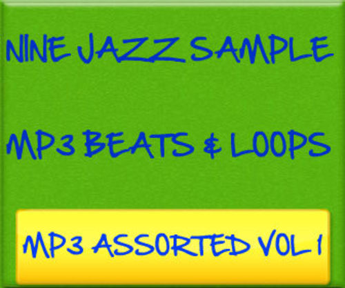 Product picture Nine Jazz Sample MP3 Beats & Loops