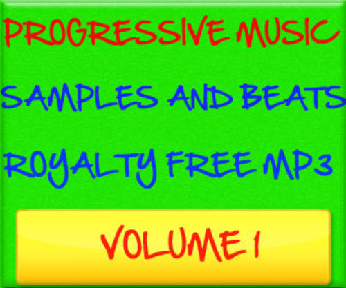 Product picture Progressive Music Samples Beats Royalty Free MP3 Volume 1