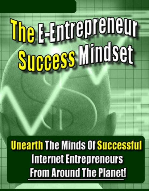 Product picture Entrepreneurs Success Mindsets