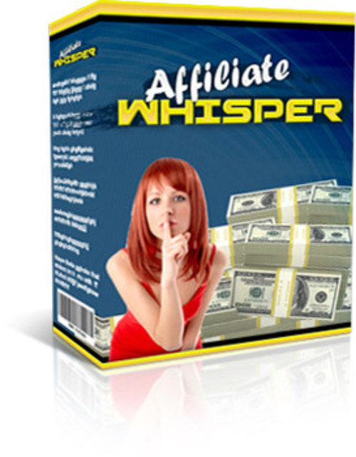 Product picture Affiliate Whisper Software (MRR)