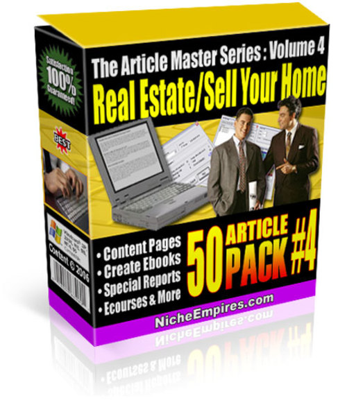 Product picture PLR Articles Real Estate Agents Sales