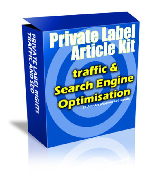 Product picture PLR Articles Traffic And SEO