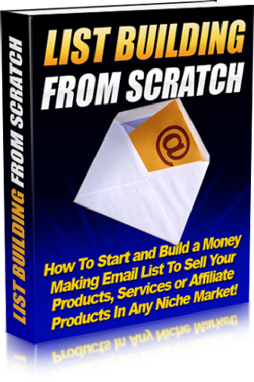 Product picture List Building From Scratch (MRR)