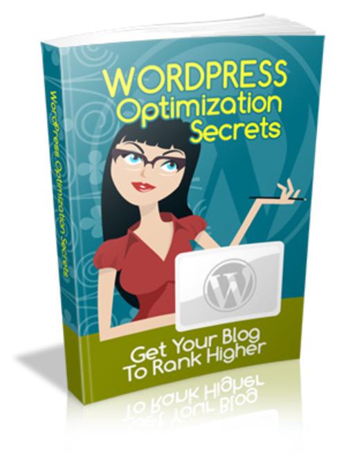Product picture WordPress Optimization Secrets (MRR)