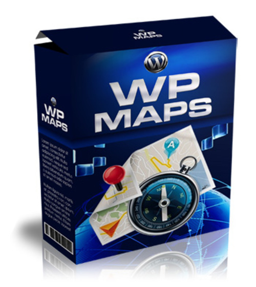 Product picture WordPress Maps Plugin (MRR)